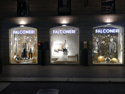 How to make your store windows stand out using sequins